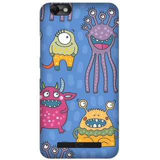 Super Cases Premium Designer Printed Case for Lenovo A2020