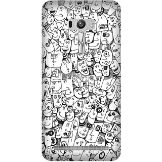 Super Cases Premium Designer Printed Case for Asus Zenfone Selfie
