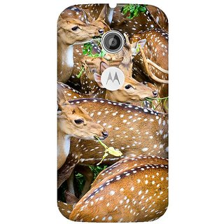 Super Cases Premium Designer Printed Case for Moto E2