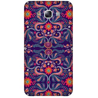 Super Cases Premium Designer Printed Case for Samsung Galaxy E5