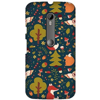 Super Cases Premium Designer Printed Case for Moto G3