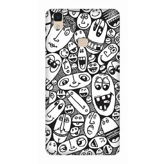 Super Cases Premium Designer Printed Case for Vivo V3 Max