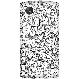 Super Cases Premium Designer Printed Case for Nexus 5