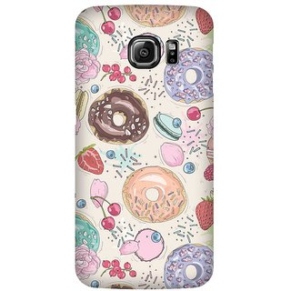 Super Cases Premium Designer Printed Case for Samsung Galaxy S6 Edge