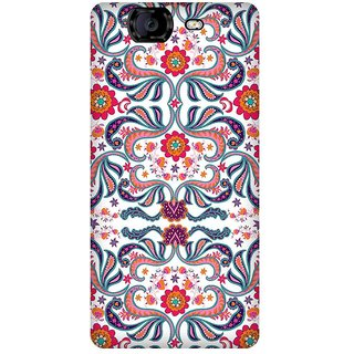 Super Cases Premium Designer Printed Case for Micromax A350