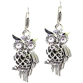 Factorywala Girls Ethnic Wear Designer Oxidized Silver Earring