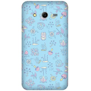 Super Cases Premium Designer Printed Case for Samsung Core 2