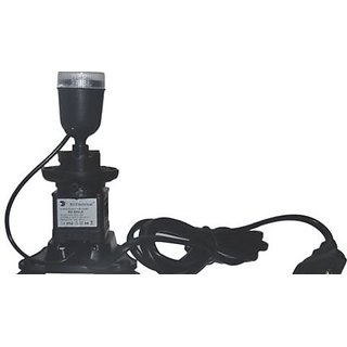 ** COLOURFUL AQUARIUM ** Aquarium Underwater Submersible Air Pump with LED light - RS-600LA
