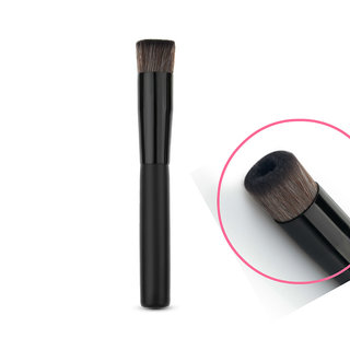 Magideal Professional Face Liquid Foundation Blend Brush Flat Concave Makeup Tool