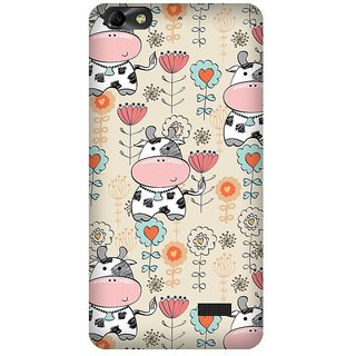 Super Cases Premium Designer Printed Case for Huawei Honor 4C