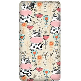 Super Cases Premium Designer Printed Case for Sony Xperia C4