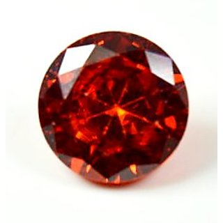 5 Ratti Red Cubic Zircon Loose Gemstone For Ring  Pendant