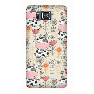 Super Cases Premium Designer Printed Case for Samsung Galaxy Alpha