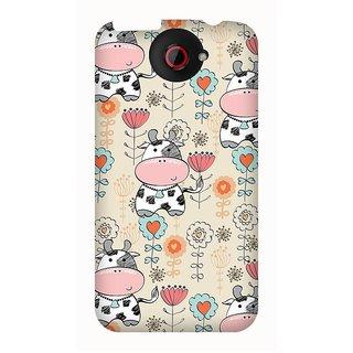 Super Cases Premium Designer Printed Case for HTC One X
