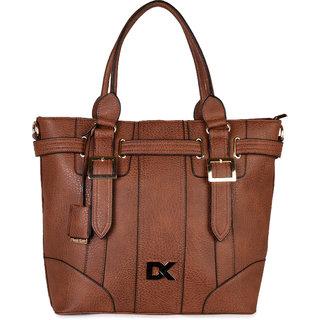 Diana Korr Brown Shoulder Bag DK97HBRW