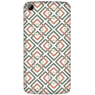 Super Cases Premium Designer Printed Case for HTC 828