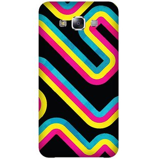 Super Cases Premium Designer Printed Case for Samsung Galaxy E5