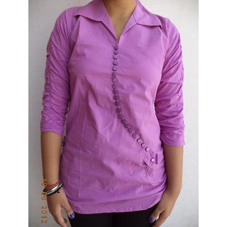 Vestire Brand pink Color Girls Top
