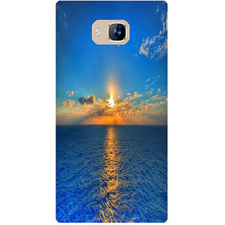 Amagav Printed Back Case Cover for Lyf Wind 2