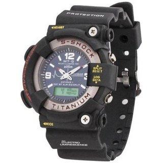 S-Shock S-Shock-FullBlack Analog-Digital Watch