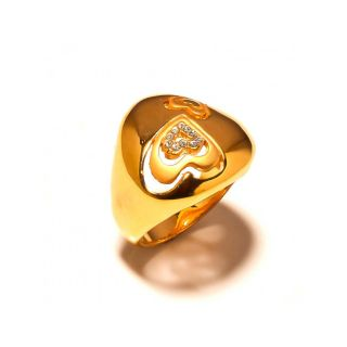 sanaa creations Symbol of Love Gold Plated Ring