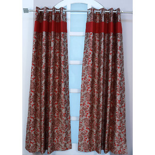 Urban Hues  Rusty Beige Curtains