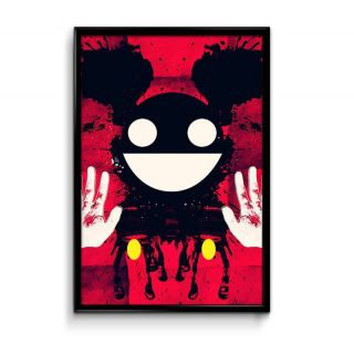 Bright Ideas Deadmau5 Graphic Art 12x18 Matte Poster,HD Printing [300 GSM Canvas Art,Rolled in Special Poster Tube]