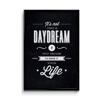 Defunk Daydream 12x18 Matte Poster,HD Printing [300 GSM Canvas Art,Rolled in Special Poster Tube]