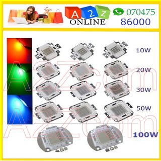 100W-RGB LED Chip High Quality-Multi Color ( 3 Color in 1 Chip ) By A2Ztech