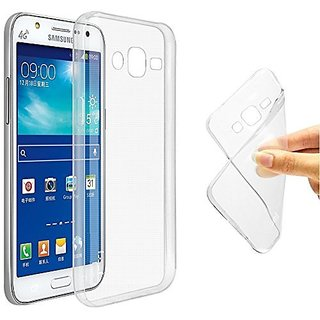 Ultra Thin 0.3mm Clear Transparent Flexible Soft TPU Slim Back Case Cover for For SAMSUNG GALAXY ON 5