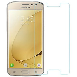 Samsung Galaxy J2 (2016) Tempered Glass, 9H Hardness Ultra Clear, Anti-Scratch, Bubble Free, Anti-Fingerprints