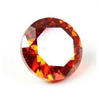 5.5 Ratti Red Cubic Zircon Loose Gemstone For Ring  Pendant