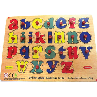 Learners Play English Alphabet Lowercase Puzzle