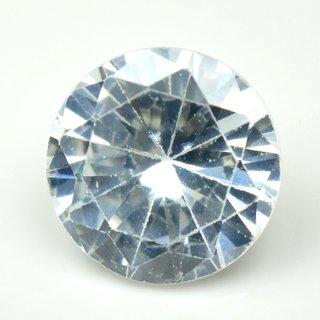 5.5 Ratti White Cubic Zircon Loose Gemstone For Ring  Pendant