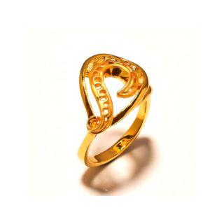 sanaa creations Stylish Gold Plated designer Ring