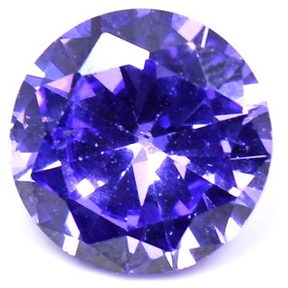 5 Ratti Purple Cubic Zircon Loose Gemstone For Ring  Pendant