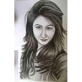 Girls Portrait Sketch