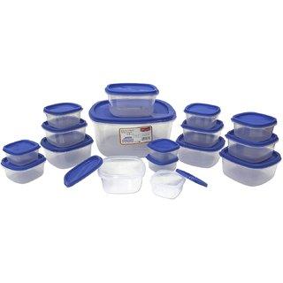 Pak Container Set jubli set, 17-Pieces, Blue