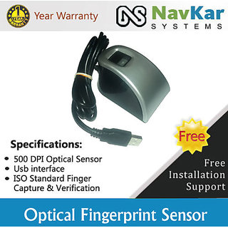 MFS100 Optical Fingerprint Scanner Aadhar Enabled Biometric Attendance System