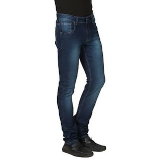 Blue Skinny Fit Mens Denim Jeans