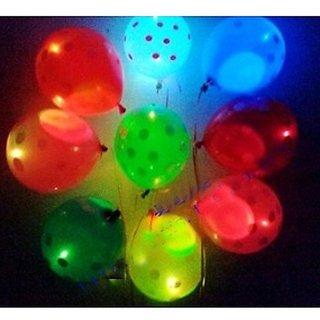 Polka dot led balloons