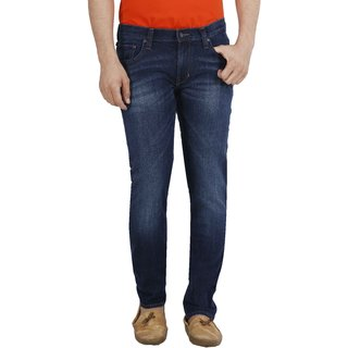 Lee Men'S Blue Comfort Fit Jeans