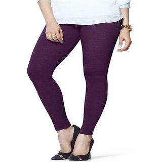 psychovest purple cotton legging