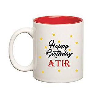 Huppme Happy Birthday Atir Inner Red Mug