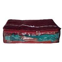 Battua Wala Maroon Saree Covers - 1 Pc