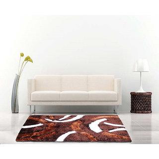Sword Design Shaggy Carpet 3x5 Feet