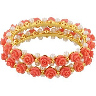 Awesome Collections Pink Color Bangles