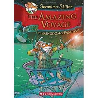 Geronimo Stilton - The Amazing Voyage The Third Adventure in the Kingdom of Fantasy Hardcover  1 Sep 2011