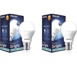 Philips Pack of 9 10.5 W LED Bulb