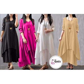Fine Rayon one Pc Dress